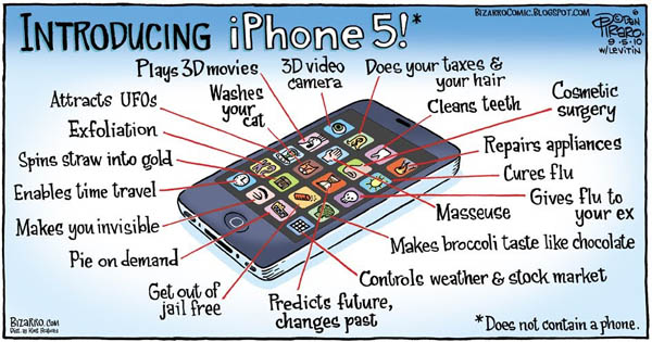 Ce optiuni iti pune la dispozitie iPhone 5