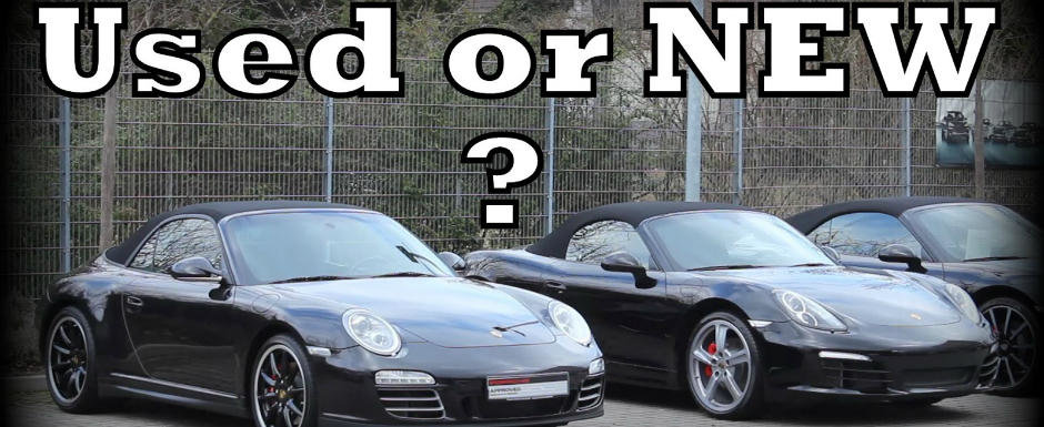 Masina noua sau masina second hand?